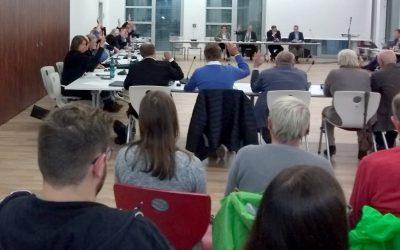 Die Baum-Ab-Parteien CDU, FWG + FDP entscheiden die vorzeitige Rohdung
