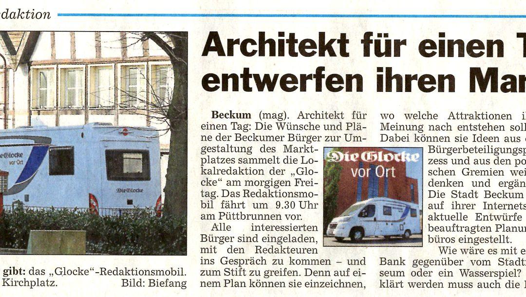 Glocke: Architekt für einen Tag